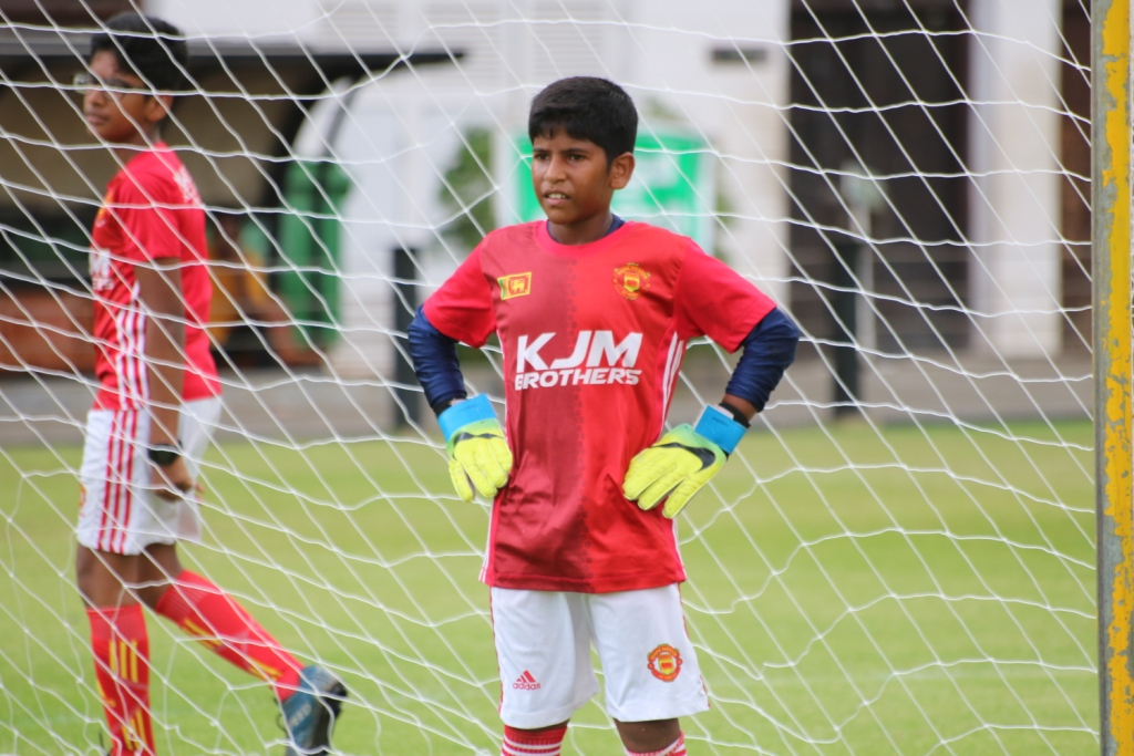 Dinuka Bandara Young Footballer selected to represent Sri Lanka at the F4F Programme in Russia