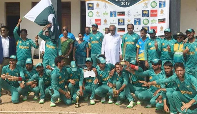 Pakistan blind cricket team stranded in SL