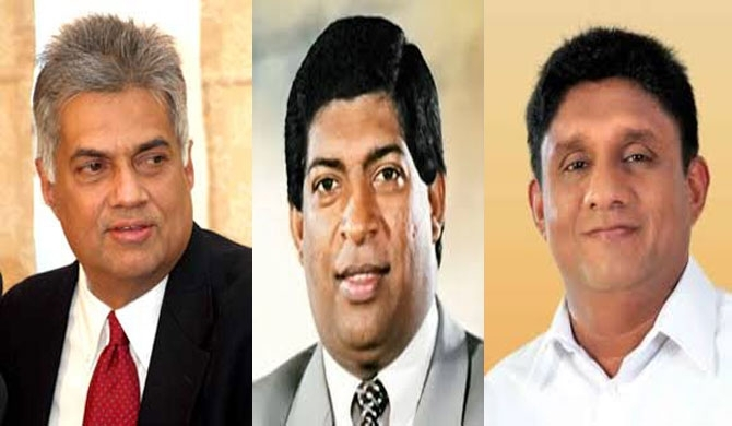 UNP Presidential candidacy fight: Ravi attacks Sajith!! (video)