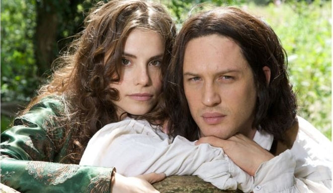 Charlotte Riley and Tom Hardy starred in ITV's Wuthering Heights in 2009