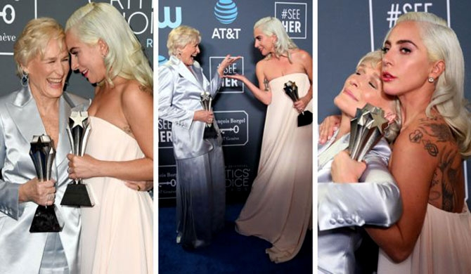 Heartbreak for Lady Gaga after award win