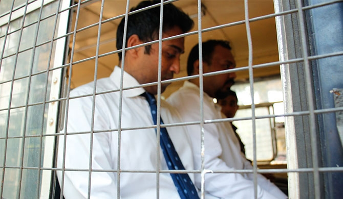 Aloysius contracts sores in prison