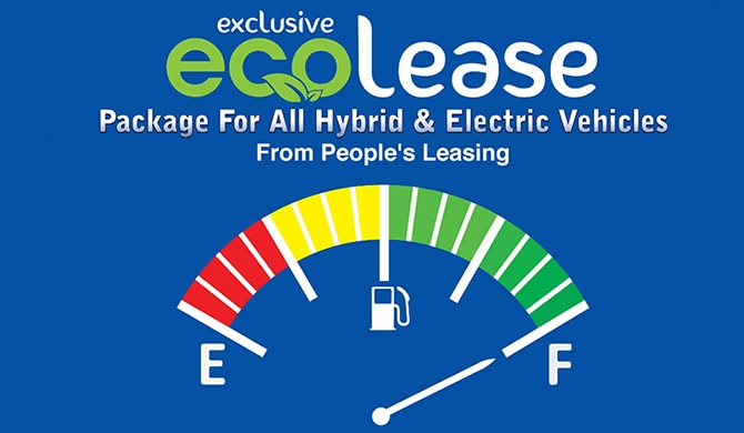 People's Leasing unveils 'eco lease' for Hybrid / Electric vehicles