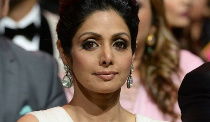 Sridevi starred in more than 150 films