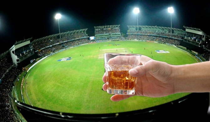 Excise busts booze racket to English fans at Premadasa stadium