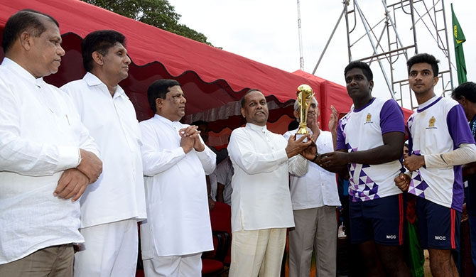 Reconciliation volleyball championship – Jaffna 'Barefoot' team