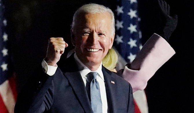 Joe Biden wins US election