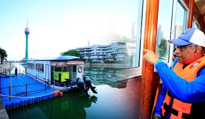 A/C boat service to ease Colombo traffic