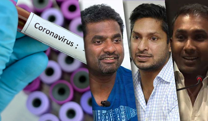 Murali, Sanga & Mahela join fight against Covid-19