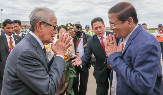 President in Cambodia on state visit