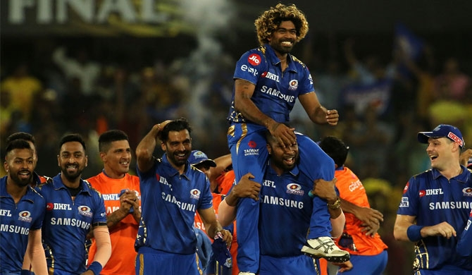 Malinga helps MI seal historic 4th title (Video)