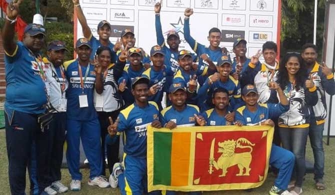 Sri Lanka wins T20 Deaf Cricket World Cup