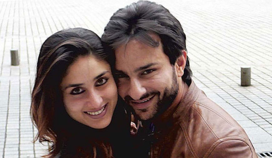 Kareena - Saif welcomes son