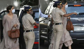 Deepika Padukone reaches NCB office