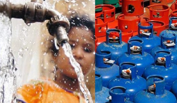 Gas, water prices to be raised