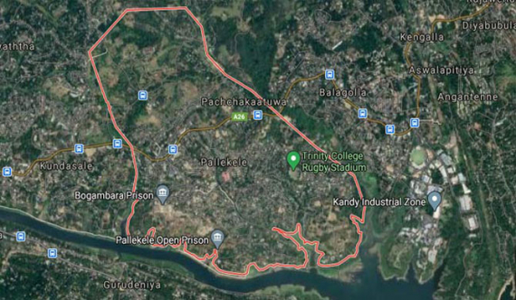 Tremors felt in Kandy district again
