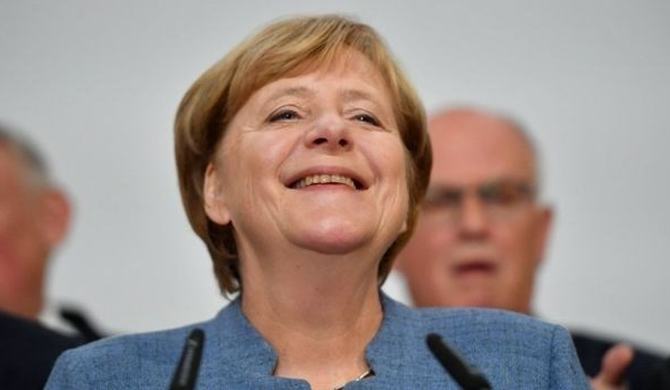 Merkel re-elected for 4th term