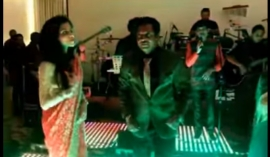 Singer Asanka Priyamantha busts a move (Video)