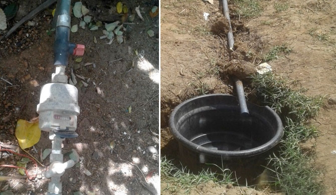 Houses in Uduppuwa have no water only meters (pics)