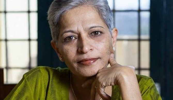 Gauri Lankesh inherited a newspaper from her father