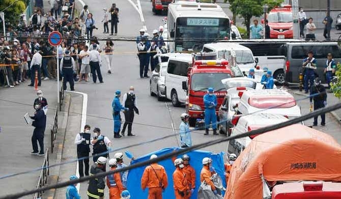 2 killed in Japan knife attack