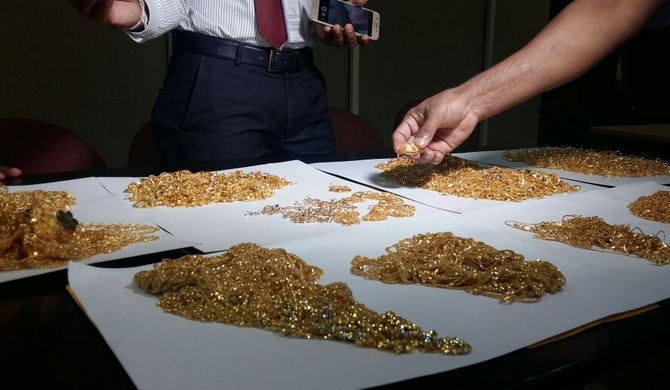 Women nabbed with 40m of smuggled gold (pics)