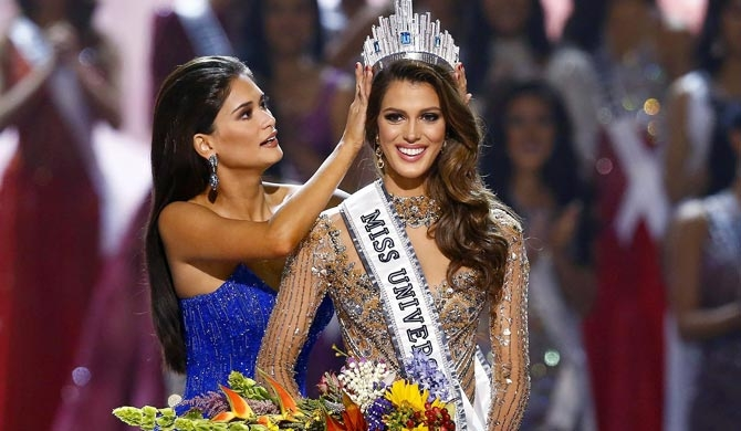 Miss France wins Miss Universe contest