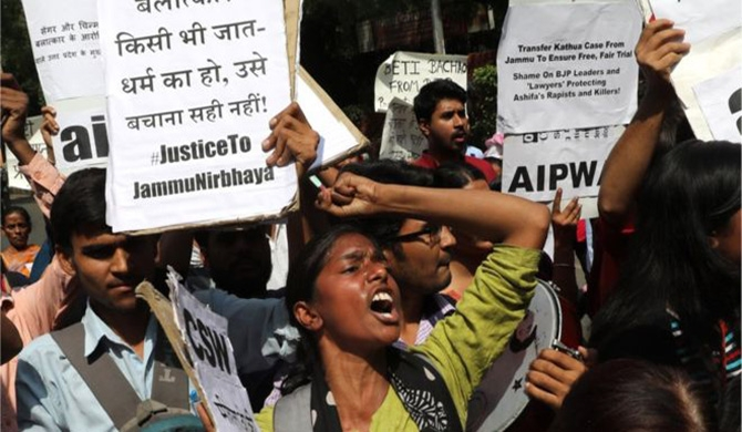 India outraged over gang rape of 8-yr old