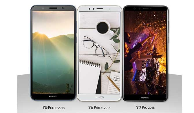 Exclusive seasonal offers from Huawei Y Series