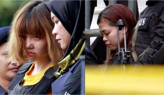 2 women charged with murder of Kim Jong-nam
