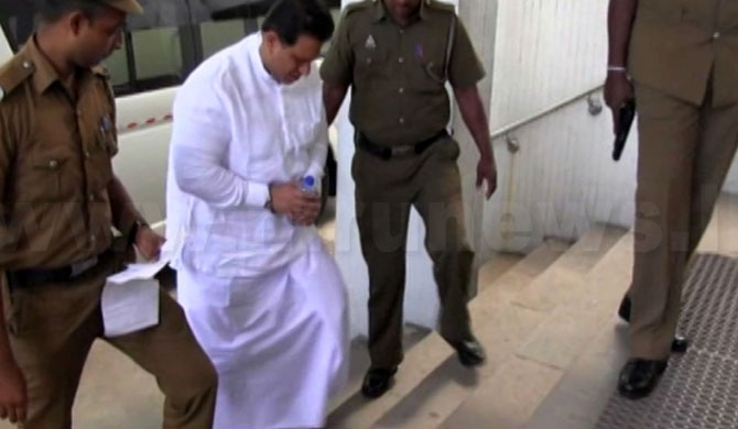 Baratha's bodyguard Gamini, shot at Duminda's head twice, while he was leaving, causing the incident: revealed in Supreme Court