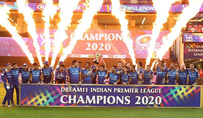 Sharma criticized as Mumbai Indians crowned IPL Champs
