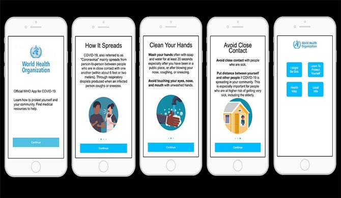 WHO to launch COVID-19 app to educate smartphone users about coronavirus
