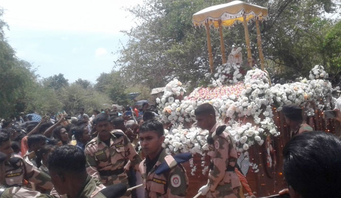 Church feast in the midst of Wilpattu forest (photos)