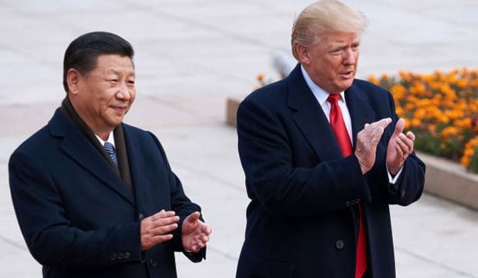 Xi Jinping calls on Trump to improve US-China relations amid Covid-19 crisis