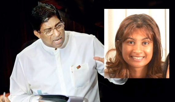 Why is only my father to blame?- Onella Karunanayake