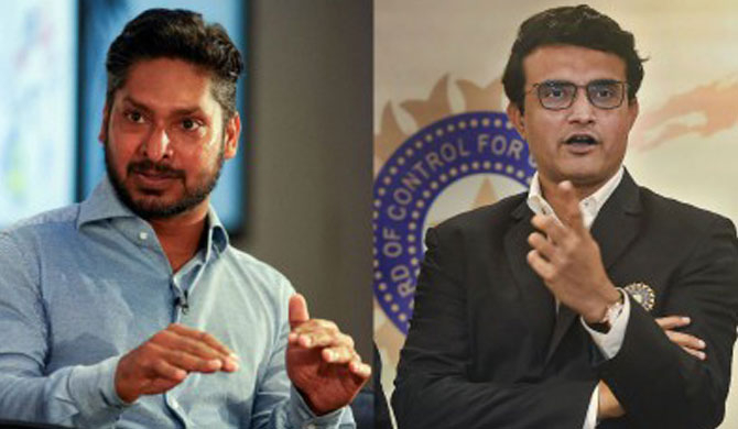 Kumar Sangakkara backs Sourav Ganguly for ICC chief post