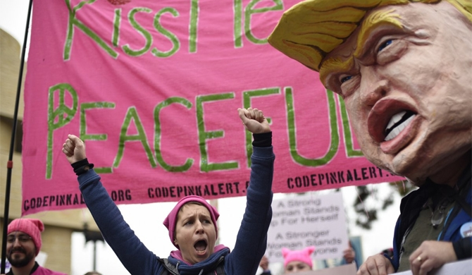 How the Women's March swept the globe