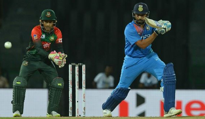 Rohit and Sundar carry India into final