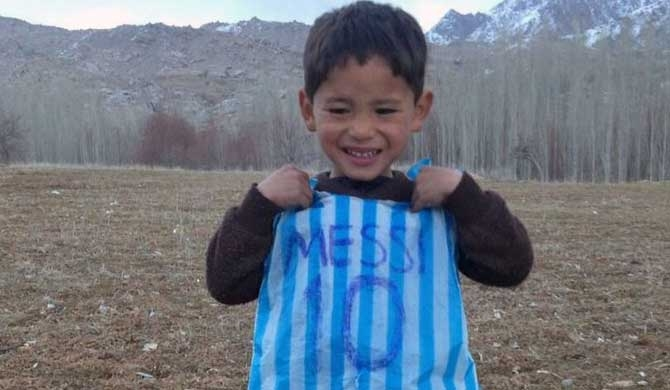 Family of Afghanistan's 'little Messi' flees Taliban offensive