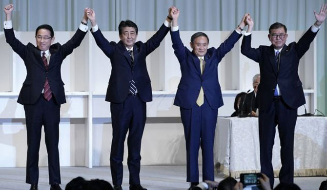 Yoshihide Suga: The unexpected rise of Japan's new prime minister