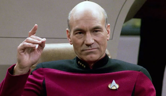 Patrick Stewart returns to Star Trek