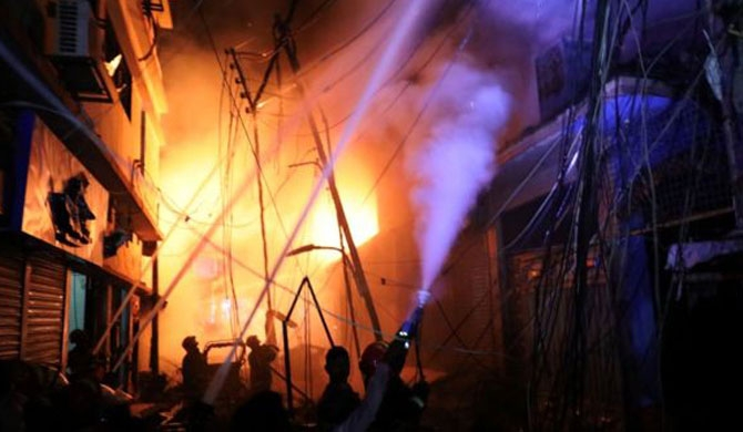 78 dead from Dhaka fire