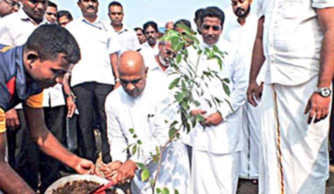 Green operation launched in Jaffna city