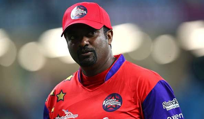 Politicians are destroying cricket in Sri Lanka - Murali