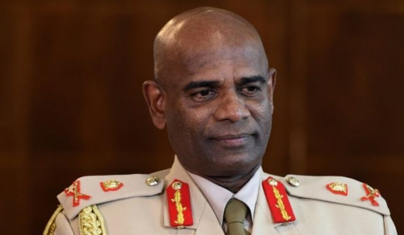 Commander of the Sri Lanka Army Lieutenant General Mahesh Senanayake