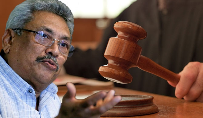 Alleged victims of torture file case against Gota in US court