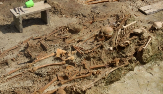 Mannar mass grave cable sample report soon