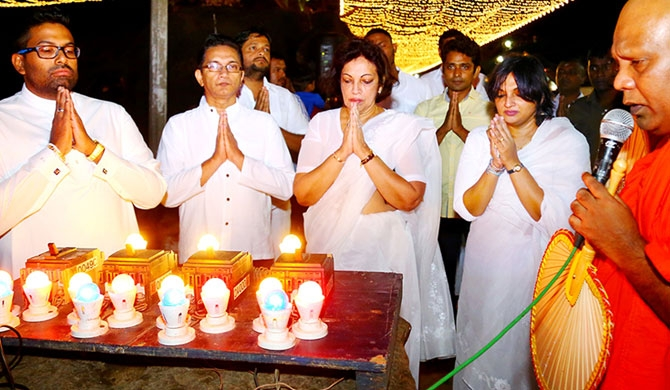Swadeshi Khomba holds Aloka Pooja for 17th year