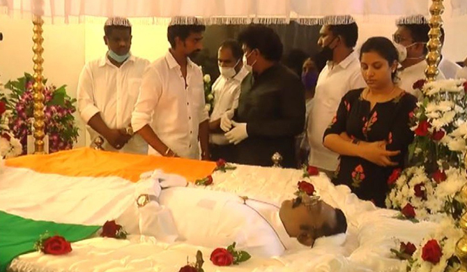 State honours for late Thondaman ; Funeral on Sunday
